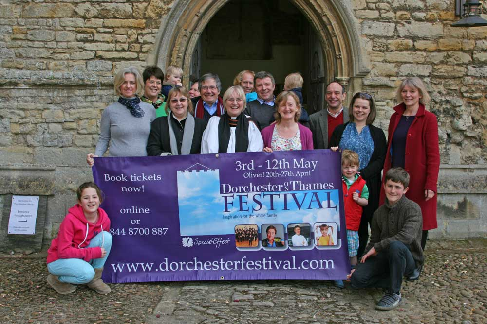 Abbey community launches the 2013 programme