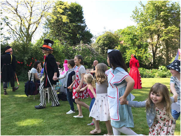 mad hatters tea party dorchester festival