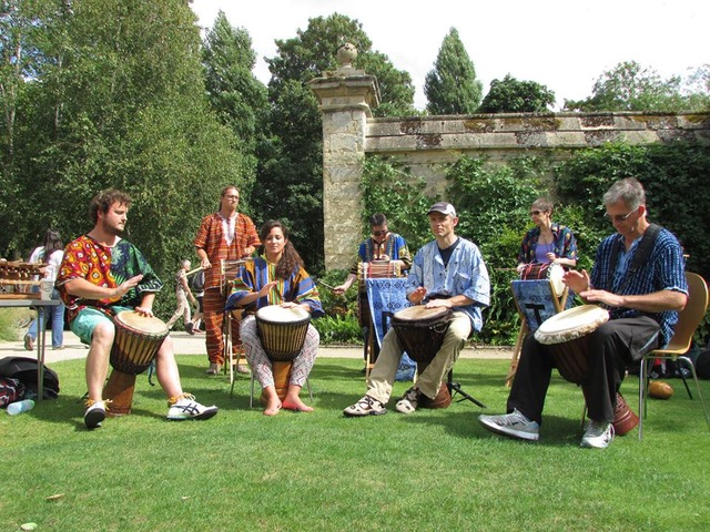 oxford drum troupe dorchester festival