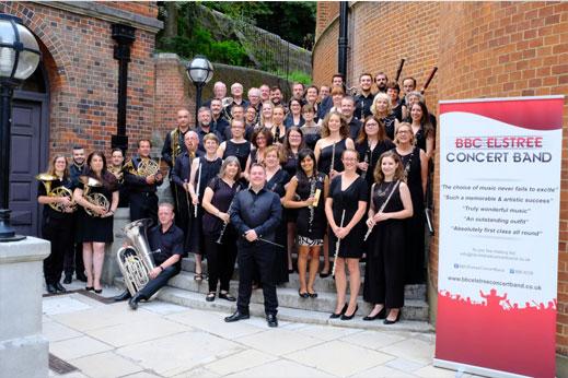 bbc elstree concert band dorchester festival