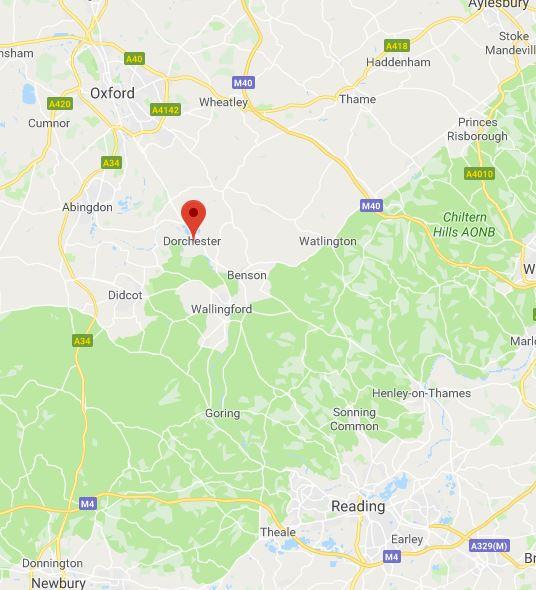 googlemap dorchester festival dorchester abbey