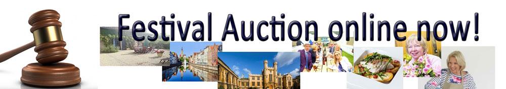 Festival auction online now!